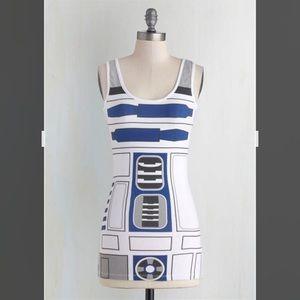 R2D2 Tank Top-Star Wars